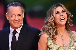 Tom Hanks erhält den Lifetime Achievement Award während des Filmfest in Rom hier Tom Hanks und Rita Wilson / 131016 ***Tom Hanks Life achievement award, Roma Cinema Fest 2016 in Rome, Italy on october 13, 2016***