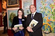 VANGEL EFTHIMIADOU; CONSTANTINE FRANGOS, Preview of Greek Sale sponsored by Citibank. Sotheby's. New Bond st. London. 10 November 2008 *** Local Caption *** -DO NOT ARCHIVE -Copyright Photograph by Dafydd Jones. 248 Clapham Rd. London SW9 0PZ. Tel 0207 820 0771. www.dafjones.com