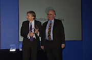KEITH HILL ACCEPTING AWARD FROM PETER RIDDELL. Association awards, 2005. Institute of Directors. Pall Mall. London. 29 November 2005. ONE TIME USE ONLY - DO NOT ARCHIVE  © Copyright Photograph by Dafydd Jones 66 Stockwell Park Rd. London SW9 0DA Tel 020 7733 0108 www.dafjones.com