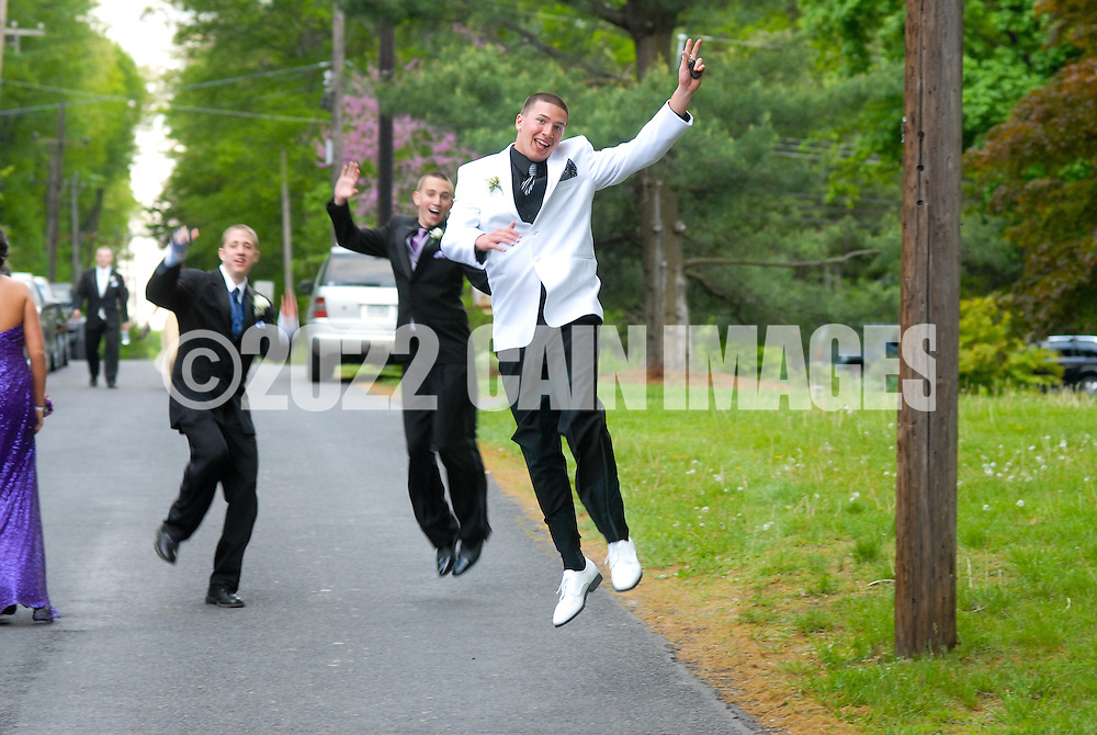 5/6/11-6:55:41 PM - DOYLESTOWN, PA - MAY 6:  Central Bucks West Pre-Prom Celebration - May 6, 2011 in Doylestown, Pennsylvania. (Photo by William Thomas Cain/Cain Images)