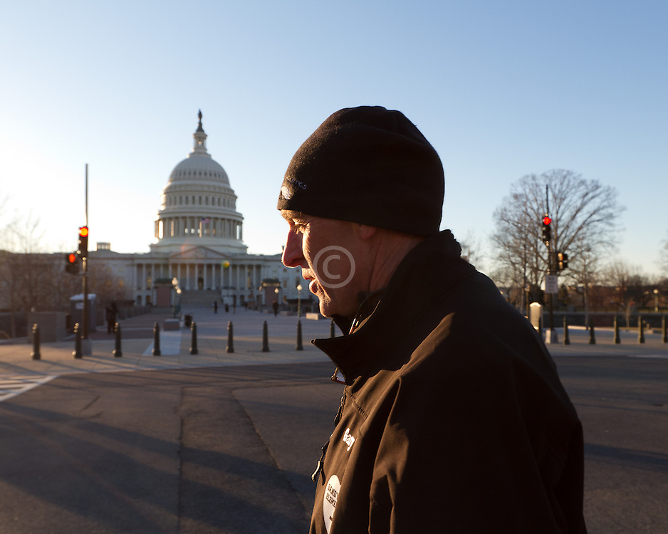 Gary Allen's Maine to DC run; day-after revisits Capitol building