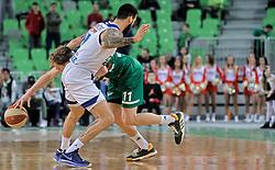 Jaka Blazic of Cedevita Olimpija during basketball match between KK Cedevita Olimpija and KK Zadar in Round #19 of ABA League 2019/20, on February 8, 2020 in Arena Stozice, Ljubljana, Slovenia. Photo by Vid Ponikvar / Sportida