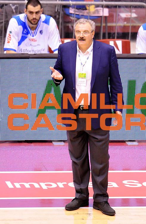 DESCRIZIONE : Milano Coppa Italia Final Eight 2013 Quarti di Finale Banco di Sardegna Sassari Enel Brindisi<br /> GIOCATORE : Coach Romeo Sacchetti<br /> CATEGORIA : Coach Fair Play Directory<br /> SQUADRA : Banco di Sardegna Sassari <br /> EVENTO : Beko Coppa Italia Final Eight 2013<br /> GARA : Banco di Sardegna Sassari Enel Brindisi<br /> DATA : 08/02/2013<br /> SPORT : Pallacanestro<br /> AUTORE : Agenzia Ciamillo-Castoria/A.Giberti<br /> Galleria : Lega Basket Final Eight Coppa Italia 2013<br /> Fotonotizia : Milano Coppa Italia Final Eight 2013 Quarti di Finale Banco di Sardegna Sassari Enel Brindisi<br /> Predefinita :