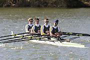 Henley, GREAT BRITAIN, Windsor Boys School, moving past Temple Island, National Junior Sculling Head, Henley on Thames,   03/03/2008  2008. [Mandatory Credit, Peter Spurrier/Intersport-images] Rowing Courses, Henley Reach, Henley, ENGLAND