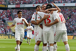 25.09.2011,  Rhein Energie Stadion, Koeln, GER, 1.FBL, 1. FC Koeln vs TSG Hoffenheim, im Bild.Torjubel / Jubel  nach dem 1:0 durch Mato Jajalo (Koeln #19)..// during the 1.FBL, 1. FC Koeln vs TSG Hoffenheim on 2011/09/25, Rhein-Energie Stadion, Köln, Germany. EXPA Pictures © 2011, PhotoCredit: EXPA/ nph/  Mueller *** Local Caption ***       ****** out of GER / CRO  / BEL ******