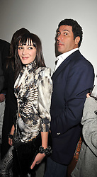 ANNABELLE NIELSON and EDUARDO TEODORANI-FABBRI nephew of Fiat chief Giovanni Agnelli at the Prada Congo Art Party hosted by Miuccia Prada and Larry Gagosian at The Double Club, 7 Torrens Street, London EC1 on 10th February 2009.