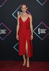 2018 People's Choice Awards. 11 Nov 2018 Pictured: Amber Valletta. Photo credit: Jaxon / MEGA TheMegaAgency.com +1 888 505 6342