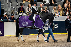 Werth Isabell, GER, Weihegold OLD<br /> LONGINES FEI World Cup™ Finals Gothenburg 2019<br /> © Hippo Foto - Dirk Caremans<br /> 06/04/2019