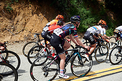 Hannah Barnes (GBR) at Amgen Tour of California Women's Race empowered with SRAM 2019 - Stage 2, a 74 km road race from Ontario to Mount Baldy, United States on May 17, 2019. Photo by Sean Robinson/velofocus.com