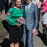 NLD/Rhenen/20120430 - Koninginnedag 2012 Rhenen, Bernhard Jr. en partner Annet Sekreve