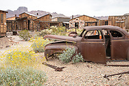 USA, Southwest, Arizona, Castle Dome, ghost town