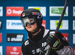 ZANG Ruxin during FIS alpine snowboard world cup 2019/20 on 18th of January on Rogla Slovenia<br /> Photo by Matic Ritonja / Sportida