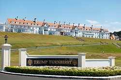 Hotel at Trump Turnberry Golf Course in Ayrshire, Scotland , UK