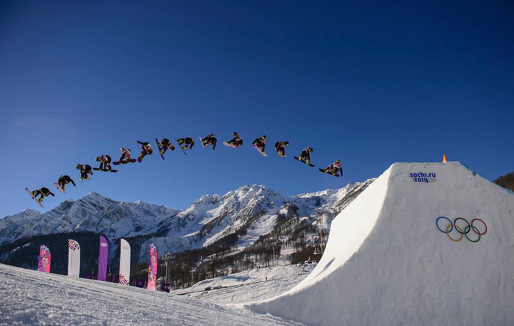 Sochi 2014 Winter Olympic Games: Men's slopestyle.