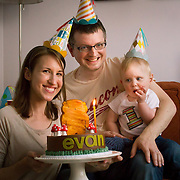 Evan Birthday #1