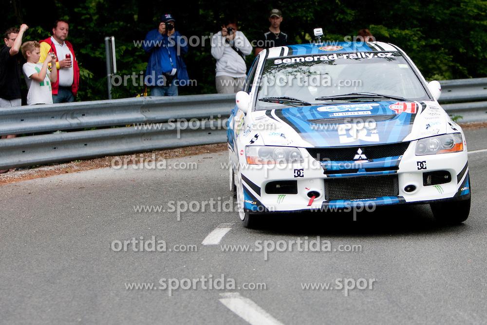 Martin Semerad and Bohuslav Ceplecha of CZE during 35th Rally Saturnus, on May 12, 2012, in Trbovlje, Slovenia. (Photo by Urban Urbanc / Sportida)