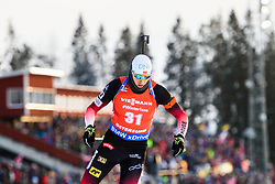 March 10, 2019 - –Stersund, Sweden - 190310 Vetle SjÃ¥stad Christiansen of Norway during the Men's 12,5 km Pursuit during the IBU World Championships Biathlon on March 10, 2019 in Östersund..Photo: Petter Arvidson / BILDBYRÃ…N / kod PA / 92255 (Credit Image: © Petter Arvidson/Bildbyran via ZUMA Press)