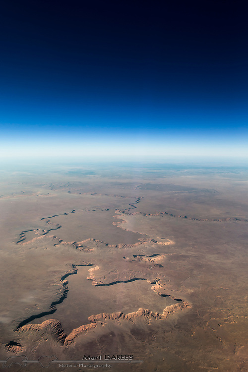 Aerial photo of the Saharan high grounds