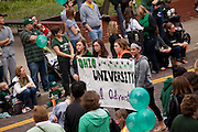 Ohio University Homecoming Parade on Court Street on October 12, 2013.