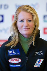 Ana Tevc of Slovenian Alpine Ski Team before new season 2008/2009, on Septembra 25, 2008, Ljubljana, Slovenia. (Photo by Vid Ponikvar / Sportal Images)