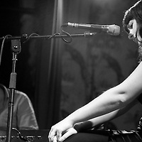Mick Flannery performing live with Kate Walsh  at the Deaf Institute, Manchester, United Kingdom, 2009-09-27