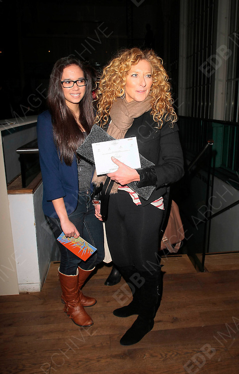 19.FEBRUARY.2012. LONDON<br /> <br /> KELLY HOPPEN AT THE MATTHEW WILLIAMSON FASHION SHOW AT LONDON FASHION WEEK AT THE ROYAL OPERA HOUSE IN LONDON<br /> <br /> BYLINE: EDBIMAGEARCHIVE.COM<br /> <br /> *THIS IMAGE IS STRICTLY FOR UK NEWSPAPERS AND MAGAZINES ONLY*<br /> *FOR WORLD WIDE SALES AND WEB USE PLEASE CONTACT EDBIMAGEARCHIVE - 0208 954 5968*
