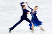 South Korea, PyeongChang - 2018 February 20: Natalia Kaliszek and Maksym Spodyriev both from Poland are dancing while Figure Skating Ice Dance Free Dance Final during The 2018 PyeongChang Olympic Winter Games at Gangneung Ice Arena on February 20, 2018 in PyeongChang, South Korea.<br /> <br /> Mandatory credit:<br /> Photo by &copy; Adam Nurkiewicz<br /> <br /> Adam Nurkiewicz declares that he has no rights to the image of people at the photographs of his authorship.<br /> <br /> Picture also available in RAW (NEF) or TIFF format on special request.<br /> <br /> Any editorial, commercial or promotional use requires written permission from the author of image.