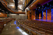 Interior Design Photographer of Maryland Image of Performing Arts Center at Montgomery College, Bethesda, MD