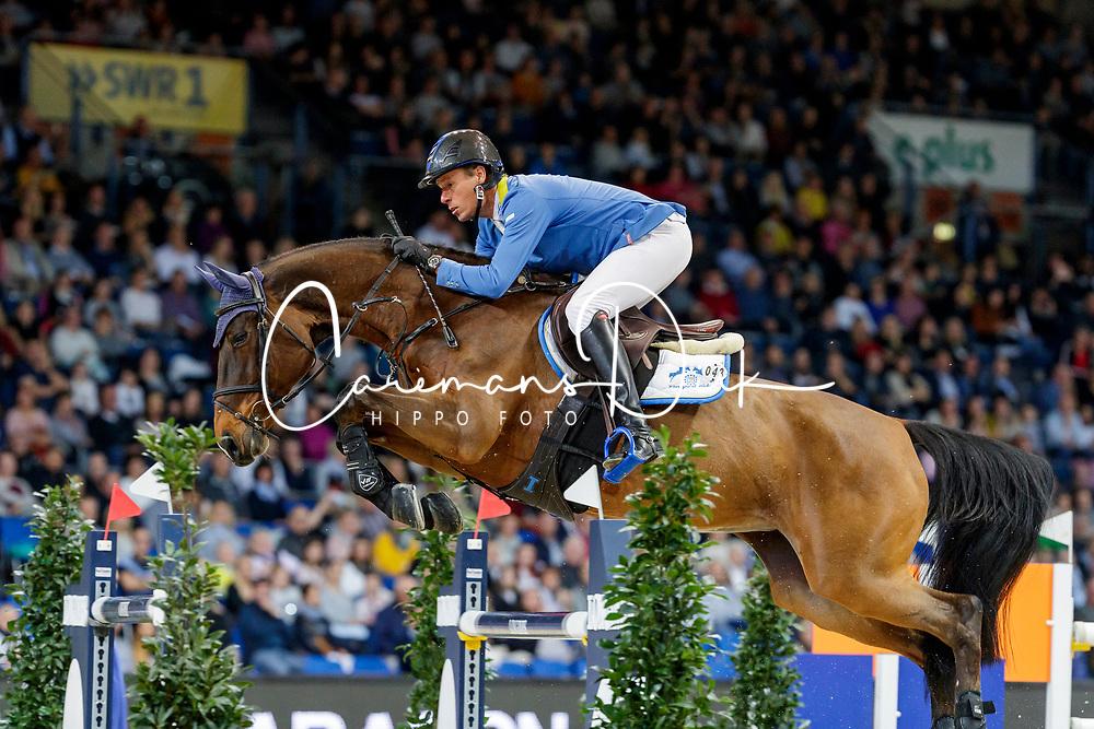 Ahlmann Christian, GER, Ailina<br /> JIM Maastricht 2019<br /> CSI4* Van Mossel Prix<br /> © Hippo Foto - Dirk Caremans<br />  09/11/2019