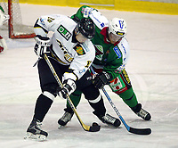 Ishockey, 23. november 2003, Vålerenga-Stavanger 3-5, Kjetil Velo, Frisk Asker, og Magnus Von Schantz, Stavanger