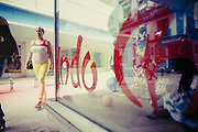 Artistic project about shop windows and street life  in Havana, Cuba