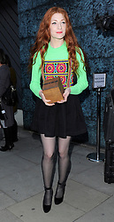 Nicola Roberts attends LFW s/s 2016: House of Holland - catwalk show during London Fashion Week. London, UK. 19/09/2015<br /> BYLINE MUST READ : GOTCHAIMAGES.COM<br />