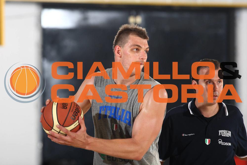 DESCRIZIONE : Bormio Raduno Collegiale Nazionale Italiana Maschile Allenamento<br /> GIOCATORE : Luca Lechthaler Simone Pianigiani<br /> SQUADRA : Nazionale Italia Uomini <br /> EVENTO : Raduno Collegiale Nazionale Italiana Maschile <br /> GARA : <br /> DATA : 01/07/2010 <br /> CATEGORIA : Allenamento Ritratto<br /> SPORT : Pallacanestro <br /> AUTORE : Agenzia Ciamillo-Castoria/GiulioCiamillo<br /> Galleria : Fip Nazionali 2010 <br /> Fotonotizia : Bormio Raduno Collegiale Nazionale Italiana Maschile Allenamento<br /> Predefinita :