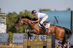 Zuidema Bert-Jan, NED, Fleurabella-V<br /> Nederlands Kampioenschap Springen<br /> De Peelbergen - Kronenberg 2020<br /> © Hippo Foto - Dirk Caremans<br />  06/08/2020