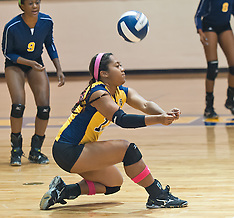 2012 A&T Volleyball VS SCSU (Season Finale)