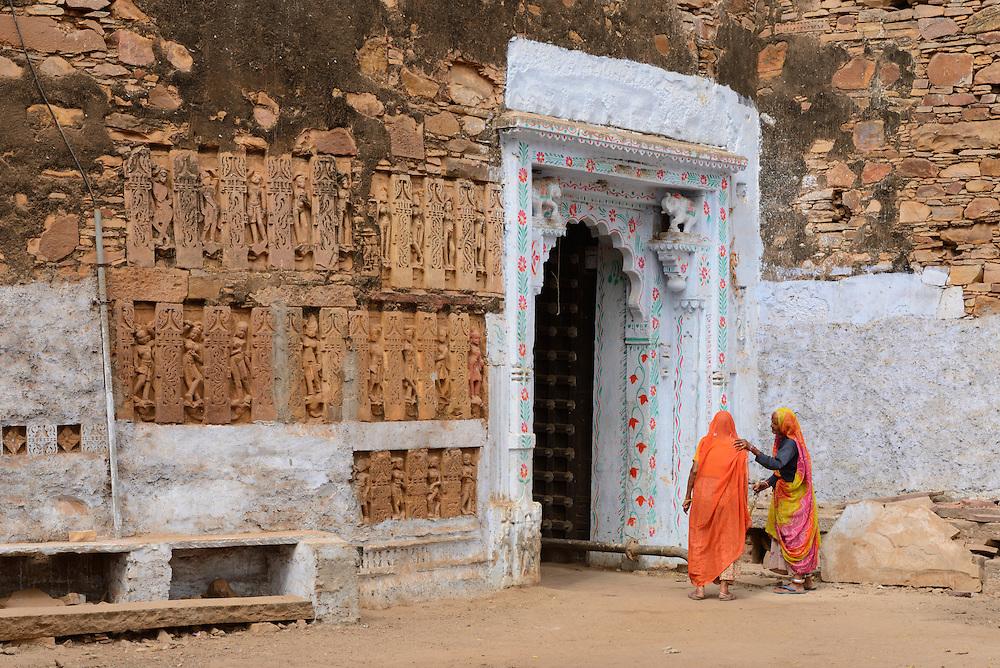 City gate in Menal, Rajasthan,India,Asia