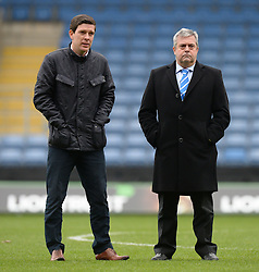 Bristol Rovers Manager Darrell Clarke and Bristol Rovers Chairman Nick Higgs. - Mandatory byline: Alex James/JMP - 17/01/2016 - FOOTBALL - The Kassam Stadium - Oxford, England - Oxford United v Bristol Rovers - Sky Bet League Two