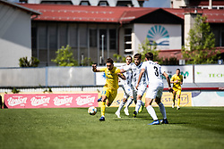 Matija Rom of NK Domzale and Nik Lorbek of NS Mura during Football match between NK Domzale and NS Mura in 30th Round of Prva liga Telekom Slovenije 2018/19, on May 1st, 2019, in Sports park Domzale, Slovenia. Photo by Grega Valancic / Sportida