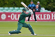 Chris Read hits through the offside during the Royal London 1 Day Cup match between Worcestershire County Cricket Club and Nottinghamshire County Cricket Club at New Road, Worcester, United Kingdom on 27 April 2017. Photo by Simon Trafford.