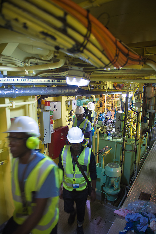 Guided tour through the engine room of the Attender