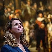 Nederland, Amsterdam, 3 mei 2017.<br /> De Limburgse Hendrikje Crebolder is toegetreden tot het directieteam van het Rijksmuseum. Zij is nu onder meer verantwoordelijk voor fondsenwerving.<br /> <br /> <br /> Foto: Jean-Pierre Jans