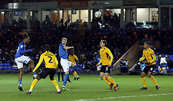 Ivan Toney of Peterborough United scores his sides fourth goal of the game against Southend United - Mandatory by-line: Joe Dent/JMP - 11/02/2020 - FOOTBALL - Weston Homes Stadium - Peterborough, England - Peterborough United v Southend United - Sky Bet League One