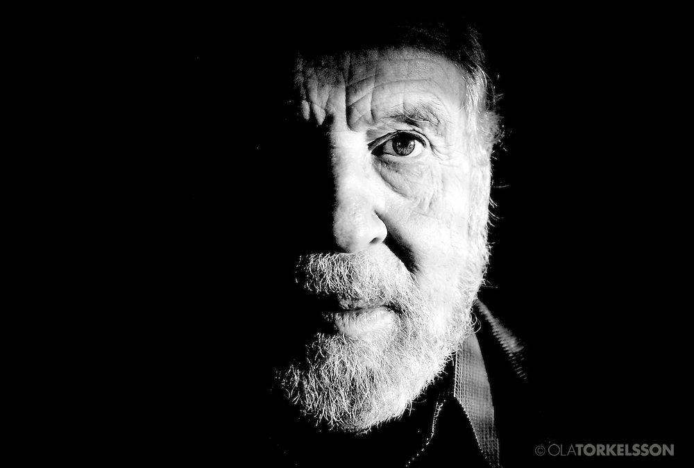Swedish actor Erland Josephson.<br />