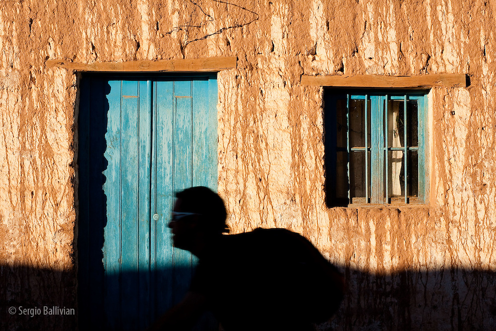Street scenes of daily life in San Pedro de Atacama, an oasis town in the northern Atacama desert of Chile.