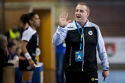 Frederic Bougeant, head coach of Rostov-Don during handball match between RK Krim Mercator and Rostov-Don in Main Round of Women's EHF Champions League 2017/18, on March 3, 2018 in Sports hall Kodeljevo, Ljubljana, Slovenia. Photo by Urban Urbanc / Sportida