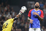 Thierry Henry (France 98), Francesco Toldo (FIFA 98) during the 2018 Friendly Game football match between France 98 and FIFA 98 on June 12, 2018 at U Arena in Nanterre near Paris, France - Photo Stephane Allaman / ProSportsImages / DPPI