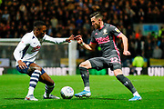 Leeds United midfielder Jack Harrison (22), on loan from Manchester City,  during the EFL Sky Bet Championship match between Preston North End and Leeds United at Deepdale, Preston, England on 22 October 2019.