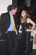 Jeremy Clarkson and the Duchess of York. Fundraising dinner in aid of Tommy's Campaign, Bloomberg Space. © Copyright Photograph by Dafydd Jones 66 Stockwell Park Rd. London SW9 0DA Tel 020 7733 0108 www.dafjones.com