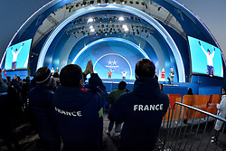 Les Coulisses, Behind the scenes at PyeongChang2018 Winter Paralympic Games, South Korea.