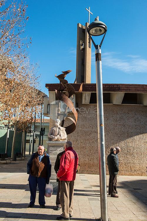 Manzanares. Junto al Gran Teatro. Ruta de Don Quijote. Ciudad Real ©Antonio Real Hurtado / PILAR REVILLA